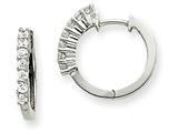 14kw Diamond Hinged Hoop Earring Mountings style: XE1364