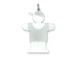 Sterling Silver Hugs Kid Charm style: XK1225SS
