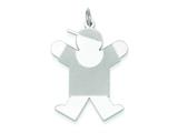 Sterling Silver Joy Kid Charm style: XK1227SS
