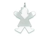 Sterling Silver Joy Kid Charm style: XK1231SS
