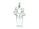 Sterling Silver Harmony Cuddle Charm style: XK1799SS