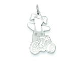 Sterling Silver Speedy Cuddle Charm style: XK1801SS