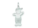 Sterling Silver Rascal Cuddle Charm style: XK1818SS