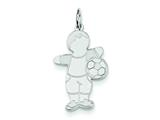 Sterling Silver Striker Cuddle Charm style: XK1824SS