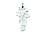Sterling Silver Prima Ballerina Cuddle Charm style: XK1835SS