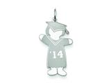 Sterling Silver Class Of 2014 Girl Cuddle Charm style: XK1956SS