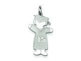 Sterling Silver Class Of 2015 Girl Cuddle Charm style: XK1957SS