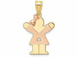 The Kids® Diamond kid Charm / Pendant style: XK500AA