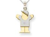 The Kids® Diamond Kid Charm / Pendant style: XK505AA