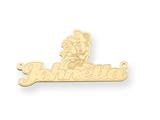 Personalized Disney Minnie Mouse Nameplate (up to 9 Letters) - Chain Included