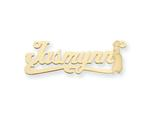 Personalized Disney Jasmine Nameplate (up to 9 Letters) - Chain Included style: XNA471Y