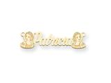 Personalized Disney Snow White Nameplate (up to 9 Letters) - Chain Included style: XNA474GP