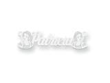 Personalized Disney Snow White Nameplate (up to 9 Letters) - Chain Included style: XNA474W