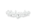 Personalized Disney Snow White Nameplate (up to 9 Letters) - Chain Included style: XNA476SS