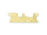 Personalized Disney Snow White Nameplate (up to 9 Letters) - Chain Included style: XNA477GP