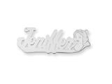 Personalized Disney Snow White Nameplate (up to 9 Letters) - Chain Included