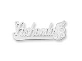 Personalized Disney Aurora Nameplate (up to 9 Letters) - Chain Included style: XNA481SS