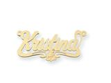 Personalized Disney Aurora Nameplate (up to 9 Letters) - Chain Included style: XNA482GP