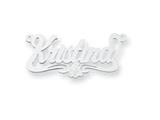 Personalized Disney Aurora Nameplate (up to 9 Letters) - Chain Included style: XNA482SS