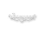 Personalized Disney Aurora Nameplate (up to 9 Letters) - Chain Included style: XNA483SS