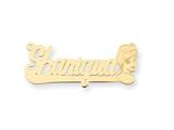 Personalized Disney Cinderella Nameplate (up to 9 Letters) - Chain Included style: XNA485GP