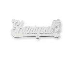 Personalized Disney Cinderella Nameplate (up to 9 Letters) - Chain Included style: XNA485SS