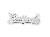Personalized Disney Cinderella Nameplate (up to 9 Letters) - Chain Included style: XNA486SS