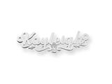 Personalized Disney Cinderella Nameplate (up to 9 Letters) - Chain Included style: XNA488SS