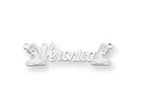Personalized Disney Belle Nameplate (up to 9 Letters) - Chain Included style: XNA490W