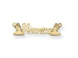 Personalized Disney Belle Nameplate (up to 9 Letters) - Chain Included style: XNA490Y
