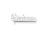 Personalized Disney Tinker Bell Nameplate (up to 9 Letters) - Chain Included style: XNA494SS