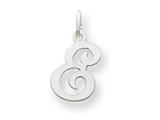 14kw Die Struck Initial E Charm style: YC249E