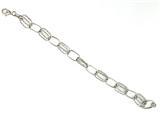 Sterling Silver 7 Inch Link Bracelet style: 460056