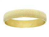 Stainless Steel with Yellow Glitter Finish Slip On Bracelet style: 460446