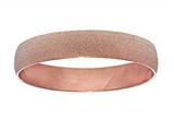 Stainless Steel with Pink Glitter Finish Slip On Bracelet style: 460450