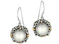 Phillip Gavriel Balinese Inspired Cultured Pearl Dangle Earrings