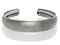Black Rhodium Sterling Silver Stardust Cuff Bangle