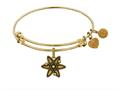 Brass With Yellow Finish Atom Charm For Angelica Collection Bangle