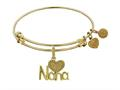 Brass With Yellow Nana Charm For Angelica Collection Bangle