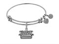 Brass with White Finish Friends Central Perk Couch Angelica Expandable Bangle