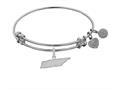 Brass With White Finish Tennessee Charm For Angelica Collection Bangle