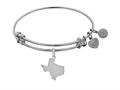 Brass With White Finish Texas Charm For Angelica Collection Bangle