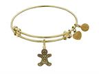 Angelica Collection Gingerbread Man Expandable Bangle Style number: GEL1256