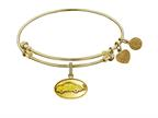 Angelica Collection Brass with Yellow Finish Friends Phoebe's Taxi Expandable Bangle Style number: GEL1295