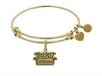 Angelica Collection Brass with Yellow Finish Friends Central Perk Couch Expandable Bangle Style number: GEL1299