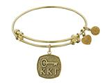Angelica Kappa Kappa Gamma Expandable Bangle Collection style: GEL1233