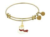Angelica Frosty The Snowman Expandable Bangle Collection style: GEL1277