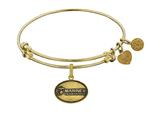 Brass with Yellow Finish U.S. Marines The Few. The Proud. Angelica Expandable Bangle style: GEL1282