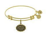 Angelica Collection Brass With Yellow Finish #1 Sister Charm For Angel Ica Bangle style: GEL1789