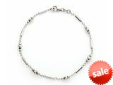 10 Inches Bead Ankle Bracelet style: 460140
